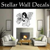 Angel Angels Heaven Wall Vinyl Decal Sticker Angelscf23013 SWD