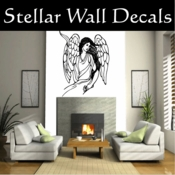 Angel Angels Heaven Wall Vinyl Decal Sticker Angelscf23014 SWD