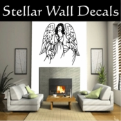 Angel Angels Heaven Wall Vinyl Decal Sticker Angelscf23015 SWD