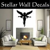 Angel Angels Heaven Wall Vinyl Decal Sticker Angelscf8003 SWD