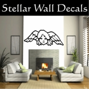 Angel Angels Heaven Wall Vinyl Decal Sticker Angelscf8008 SWD