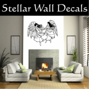 Angel Angels Heaven Wall Vinyl Decal Sticker Angelscf23017 SWD