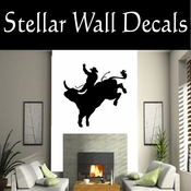 Western Cowboy NS001 Vinyl Decal Wall Art Sticker Mural SWD