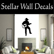 Western Cowboy NS008 Vinyl Decal Wall Art Sticker Mural SWD