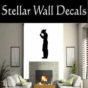 Western Cowboy NS015 Vinyl Decal Wall Art Sticker Mural SWD