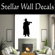 Western Cowboy NS020 Vinyl Decal Wall Art Sticker Mural SWD