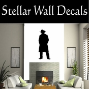 Western Cowboy NS022 Vinyl Decal Wall Art Sticker Mural SWD