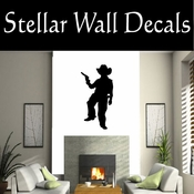 Western Cowboy NS031 Vinyl Decal Wall Art Sticker Mural SWD