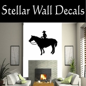 Western Cowboy NS042 Vinyl Decal Wall Art Sticker Mural SWD