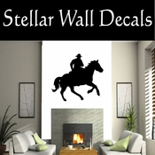 Western Cowboy NS044 Vinyl Decal Wall Art Sticker Mural SWD