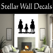 Western Cowboy NS045 Vinyl Decal Wall Art Sticker Mural SWD