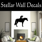 Western Cowboy NS047 Vinyl Decal Wall Art Sticker Mural SWD