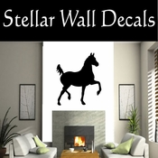 Western Horses NS001 Vinyl Decal Wall Art Sticker Mural SWD