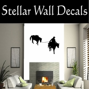 Western Horses NS002 Vinyl Decal Wall Art Sticker Mural SWD