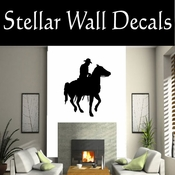 Western Horses NS003 Vinyl Decal Wall Art Sticker Mural SWD