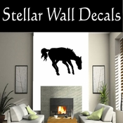 Western Horses NS004 Vinyl Decal Wall Art Sticker Mural SWD