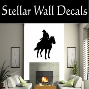 Western Horses NS005 Vinyl Decal Wall Art Sticker Mural SWD