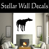 Western Horses NS006 Vinyl Decal Wall Art Sticker Mural SWD