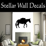 Western Horses NS007 Vinyl Decal Wall Art Sticker Mural SWD