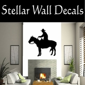 Western Horses NS008 Vinyl Decal Wall Art Sticker Mural SWD