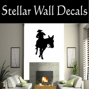 Western Horses NS009 Vinyl Decal Wall Art Sticker Mural SWD
