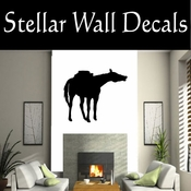 Western Horses NS011 Vinyl Decal Wall Art Sticker Mural SWD