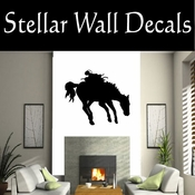 Western Horses NS012 Vinyl Decal Wall Art Sticker Mural SWD