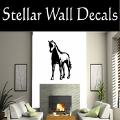 Western Horses NS013 Vinyl Decal Wall Art Sticker Mural SWD