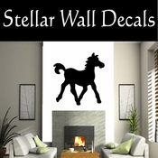 Western Horses NS014 Vinyl Decal Wall Art Sticker Mural SWD