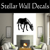 Western Horses NS015 Vinyl Decal Wall Art Sticker Mural SWD