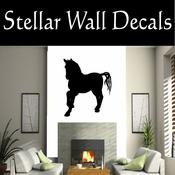 Western Horses NS020 Vinyl Decal Wall Art Sticker Mural SWD