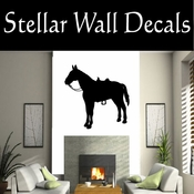 Western Horses NS021 Vinyl Decal Wall Art Sticker Mural SWD