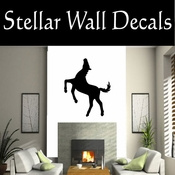 Western Horses NS022 Vinyl Decal Wall Art Sticker Mural SWD
