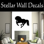 Western Horses NS023 Vinyl Decal Wall Art Sticker Mural SWD