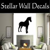 Western Horses NS026 Vinyl Decal Wall Art Sticker Mural SWD