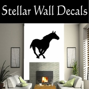 Western Horses NS028 Vinyl Decal Wall Art Sticker Mural SWD