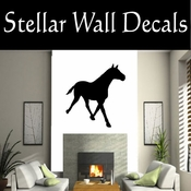 Western Horses NS029 Vinyl Decal Wall Art Sticker Mural SWD