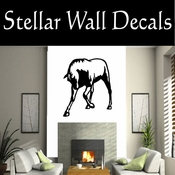 Western Horses NS030 Vinyl Decal Wall Art Sticker Mural SWD