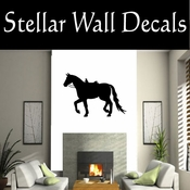 Western Horses Saddled NS001 Vinyl Decal Wall Art Sticker Mural SWD