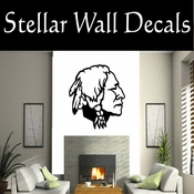 Western Indian Nickel NS001 Vinyl Decal Wall Art Sticker Mural SWD