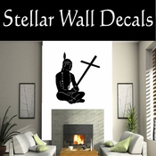 Western Indian NS001 Vinyl Decal Wall Art Sticker Mural SWD