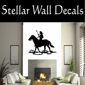 Western Indian NS002 Vinyl Decal Wall Art Sticker Mural SWD