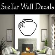 Western Indian Pottery NS003 Vinyl Decal Wall Art Sticker Mural SWD