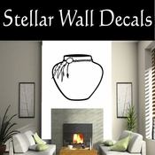 Western Indian Pottery NS004 Vinyl Decal Wall Art Sticker Mural SWD