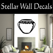 Western Indian Pottery NS006 Vinyl Decal Wall Art Sticker Mural SWD