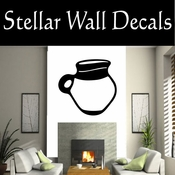Western Indian Pottery NS009 Vinyl Decal Wall Art Sticker Mural SWD