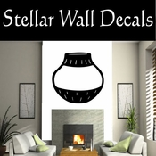 Western Indian Pottery NS014 Vinyl Decal Wall Art Sticker Mural SWD