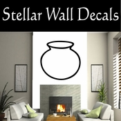 Western Indian Pottery NS015 Vinyl Decal Wall Art Sticker Mural SWD