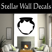 Western Indian Pottery NS019 Vinyl Decal Wall Art Sticker Mural SWD