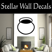 Western Indian Pottery NS021 Vinyl Decal Wall Art Sticker Mural SWD